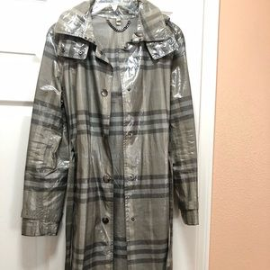 Burberry Jackets & Coats - Burberry London rain coat in classic grey check